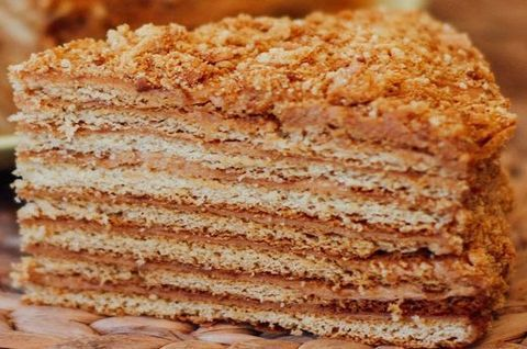 Торт Медовик на кокосовом молоке без глютена