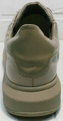 Городские кроссовки для ежедневной ходьбы женские Markos 1523 All Beige.