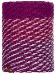 Шарф-труба вязаный с флисовой подкладкой Buff Neckwarmer Knitted Polar Nella Purple Raspberry