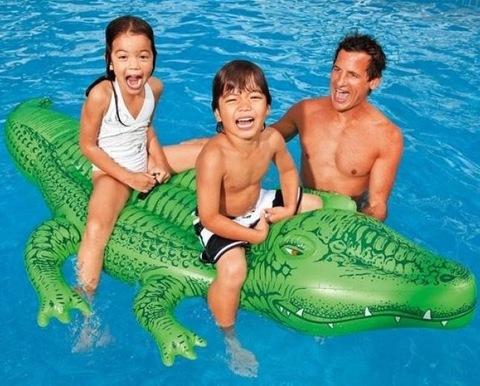 Надувной матрас Крокодил 168*86см.