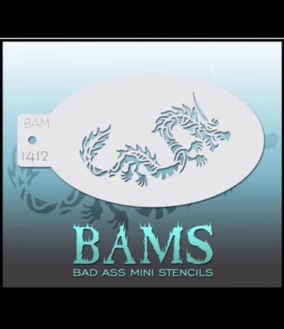 Трафарет BAMS 1412