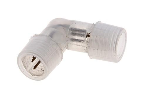 Коннектор L-образный для дюралайта,11 мм, 3W