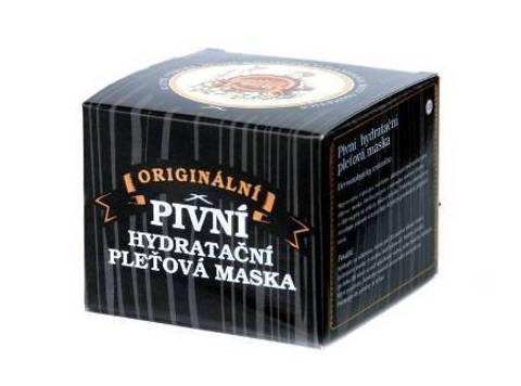 Saela Маска для лица пивная увлажняющая для нормальной и сухой кожи, 100 мл