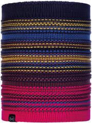 Вязаный шарф-труба с флисом Buff Neckwarmer Knitted Polar Neper Night Blue