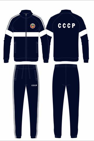 Спортивный костюм СССР 14M-AS-1344 синий
