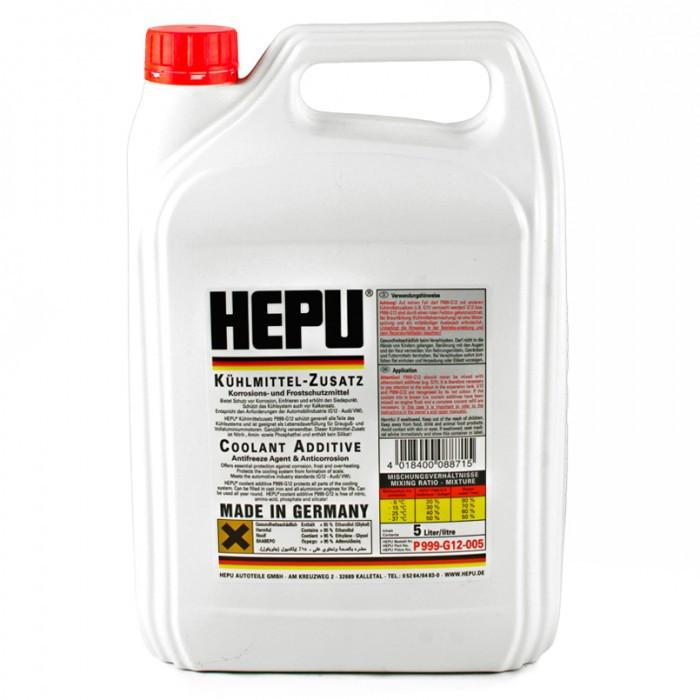 Антифриз HEPU красный концентрат