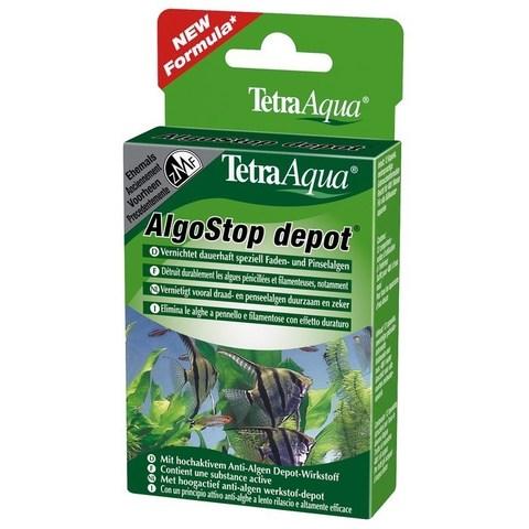 Tetra ZMF ALGO-stop depot таблетки длительного действия уничтожает нитчатые и пучковые водоросли 12т