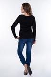 Блузка для беременных 09010 черный