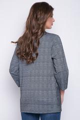 <p>Уютный пиджак свободного кроя из вискозы хеви. Без подклада.Рукав 3/4. Функциональные карманы. (Длина: 44-74см; 46-75см; 48-76см; 50-77см)</p>