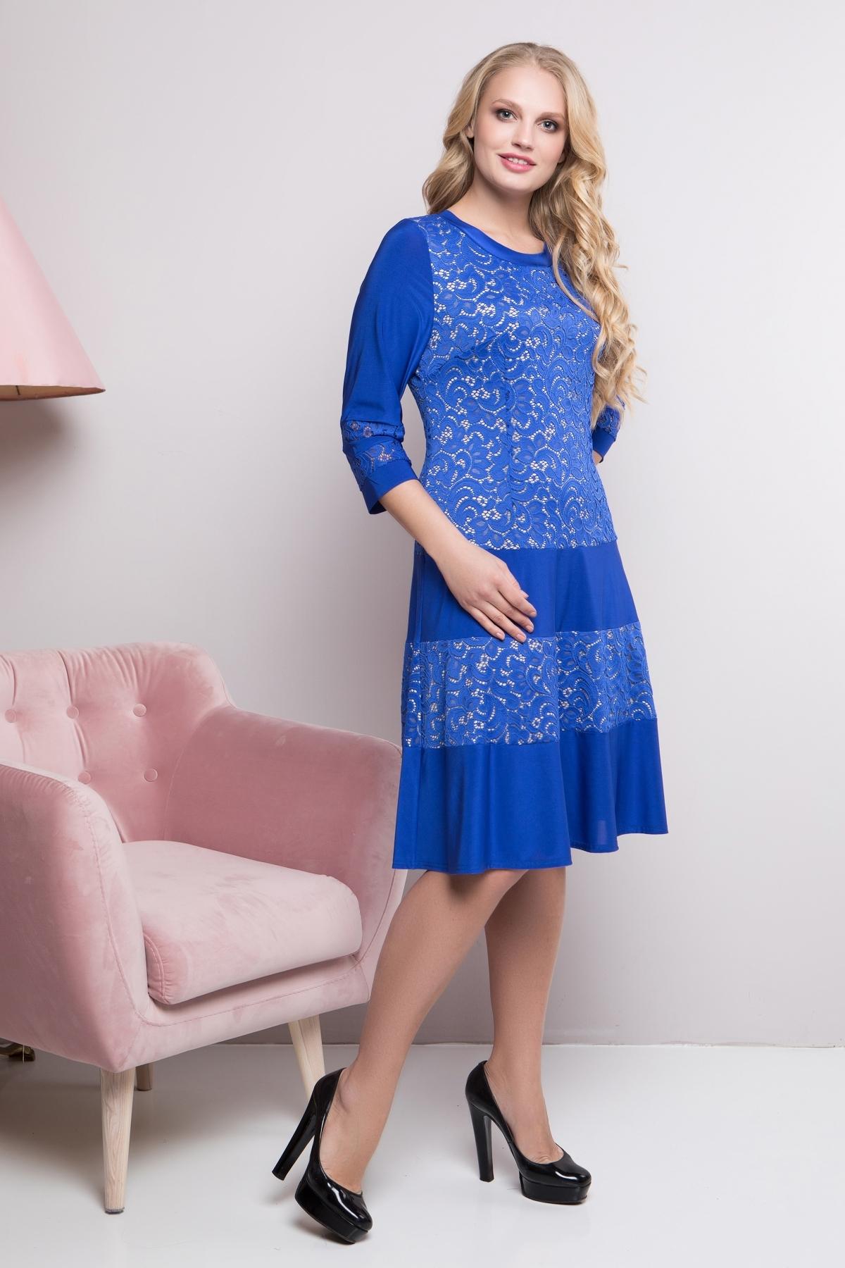 Платье Персик (электрик)