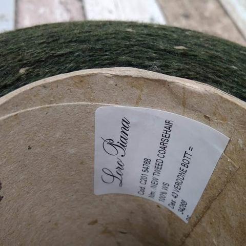Кашемир 2/14 LORO PIANA COARSEHAIR TWEED зеленый бутылочный