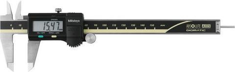 Штангенциркуль с цифровым отсчетным устройством с измерительной системой AOS, круглым глубиномером и разъёмом для вывода данных 150 мм
