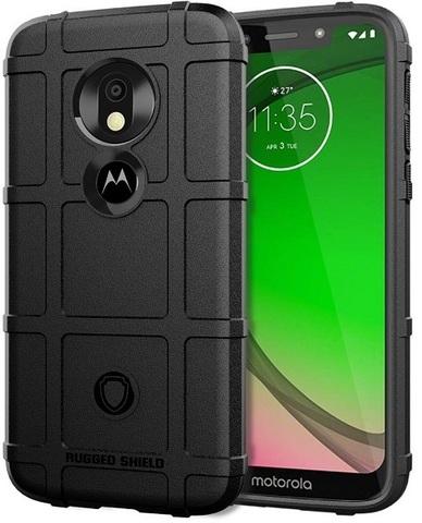 Чехол Motorola Moto G7 Play цвет Black (черный), серия Armor, Caseport