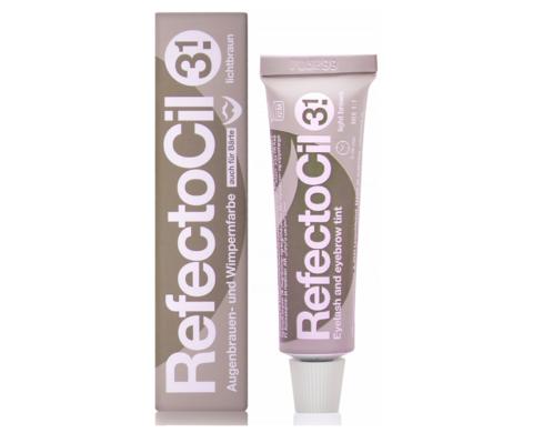RefectoCil Крем-краска для окрашивания бровей и ресниц № 3.1 Светло-коричневый
