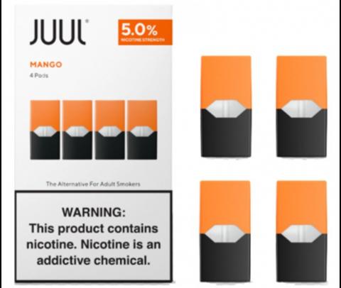 Картридж Juul Labs - Mango 5% (4шт) analog