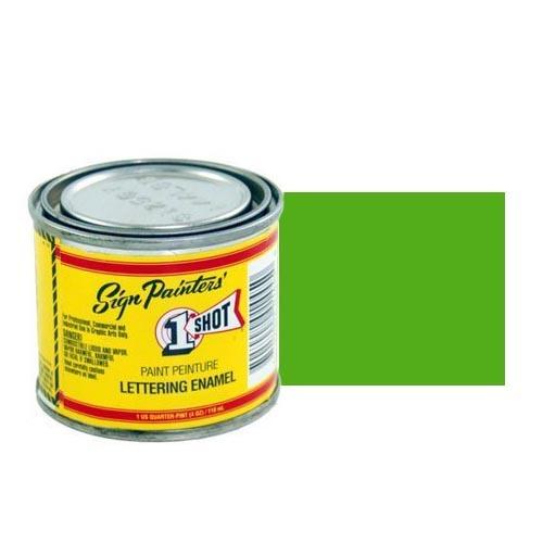 Пинстрайпинг (pinstriping) 142-L Эмаль для пинстрайпинга 1 Shot Изумрудно-зелёный (Emerald Green), 118 мл EmeraldGreen.jpg