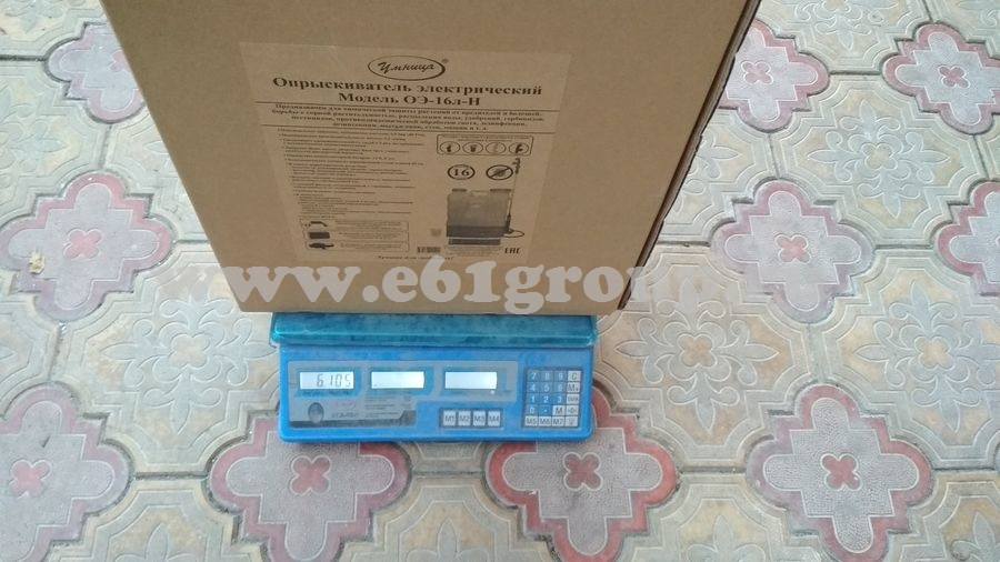 10 Опрыскиватель электрический ранцевый Комфорт (Умница) ОЭ-16л-Н с регулятором мощности где купить