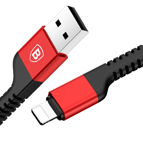 Кабель Baseus Confidant Anti-break Cable For IP 2A 1.5M Red