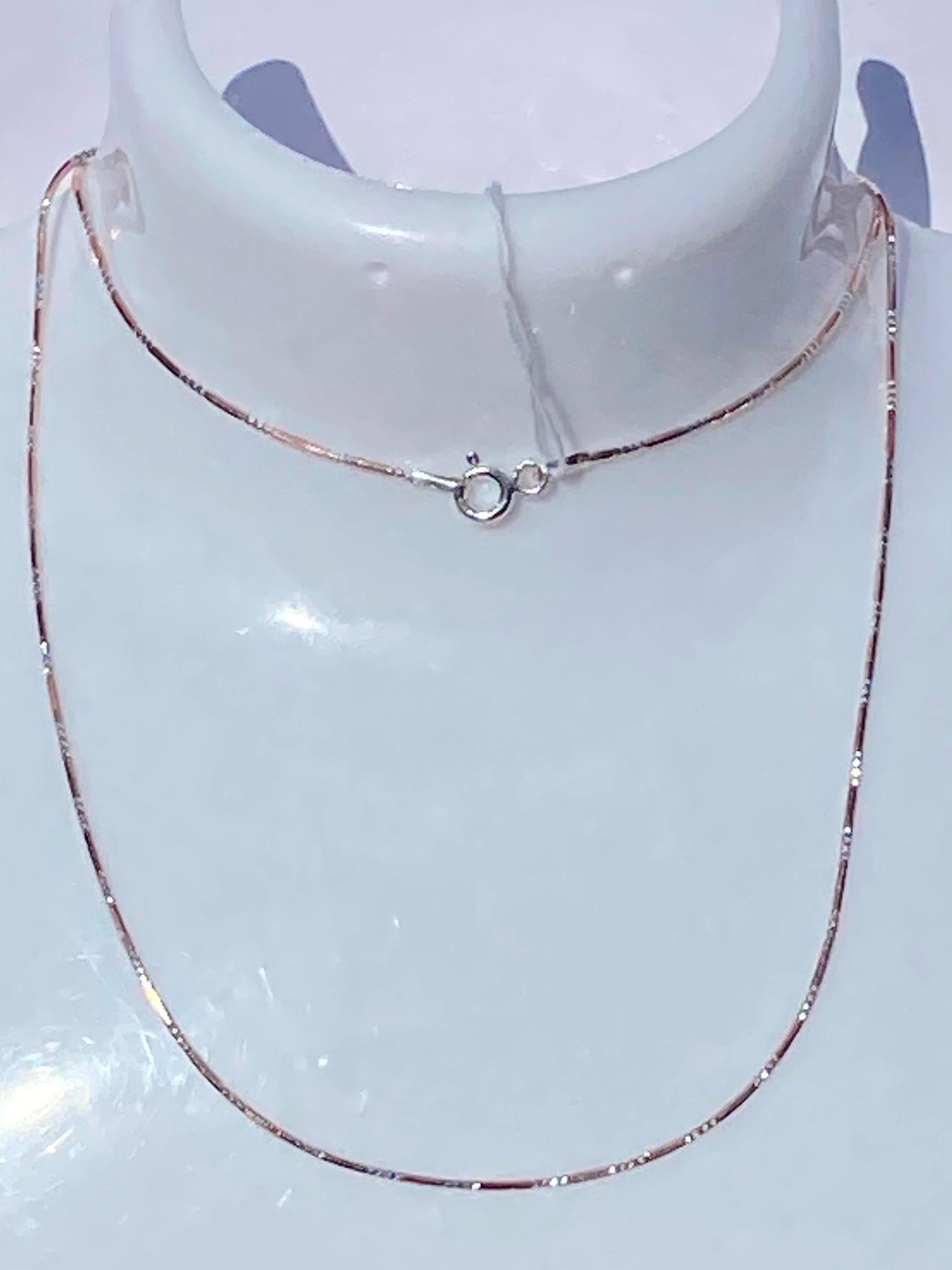 Снейк шестигранный с алмазными насечками (цепочка из серебра с позолотой))