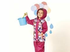 Ветровка для девочки Lupilu непромокайка