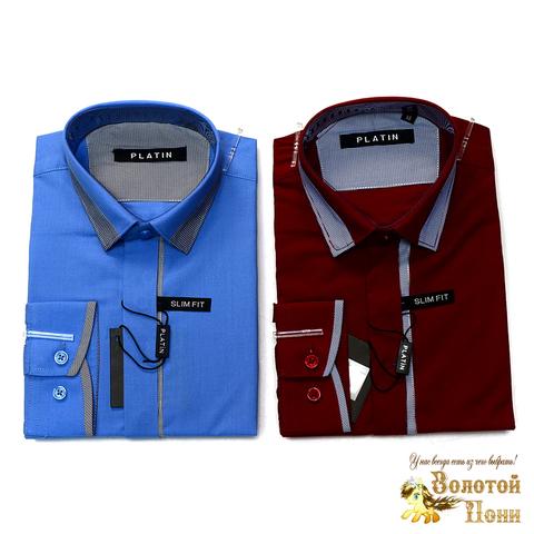 Рубашка для мальчика (116-170) 190620-5053