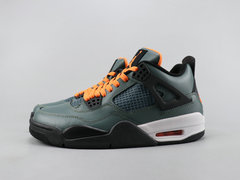 Air Jordan 4 Retro 'Dark Green/Black/Orange'