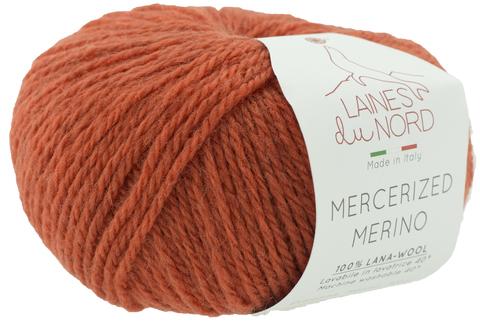 Пряжа Mercerized Merino (Мерсеризед Мерино). Оранжевый. Артикул: 23