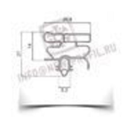Уплотнитель для холодильника  Electrolux ERB 9192 м.к 680*570 мм (010 АНАЛОГ)