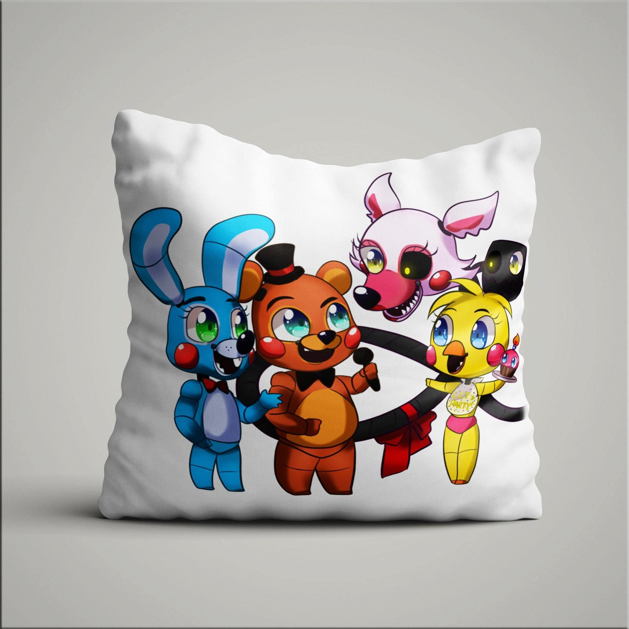 Подушка с героями ФНАФ №1 - купить в интернет-магазине kinoshop24.ru
