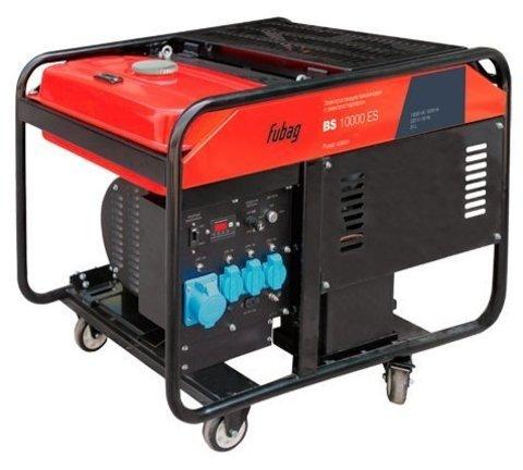 Кожух для бензинового генератора Fubag BS 10000 ES (9500 Вт)