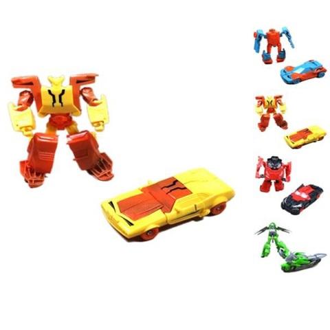 Трансформер-Робот простой в ассортименте в пак.,1кор*1бл*10шт