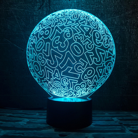 Лампа Цифровой шар