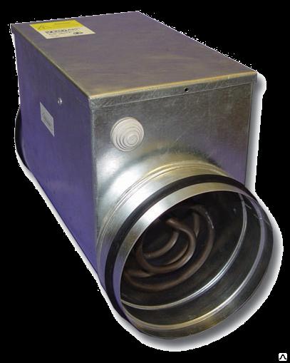 Электрические нагреватели для круглых каналов Нагреватель воздуха Airone EOK-125-2,4-1 ф 678_big.png