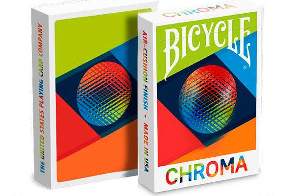 Карты для кардистри Bicycle Chroma