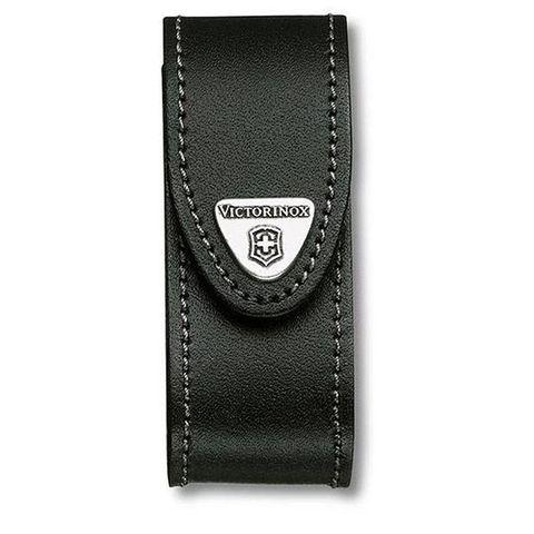 Чехол Victorinox (4.0520.3) для 91мм толщина 2-4 ур кожа черный блистер