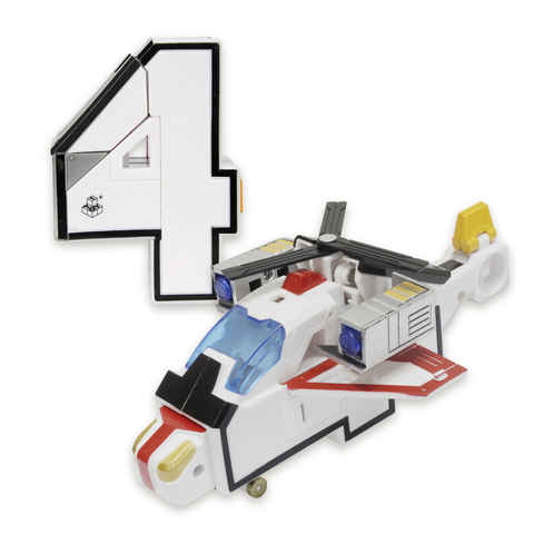 4 Трансбот XL Квадрон (цифра четыре)