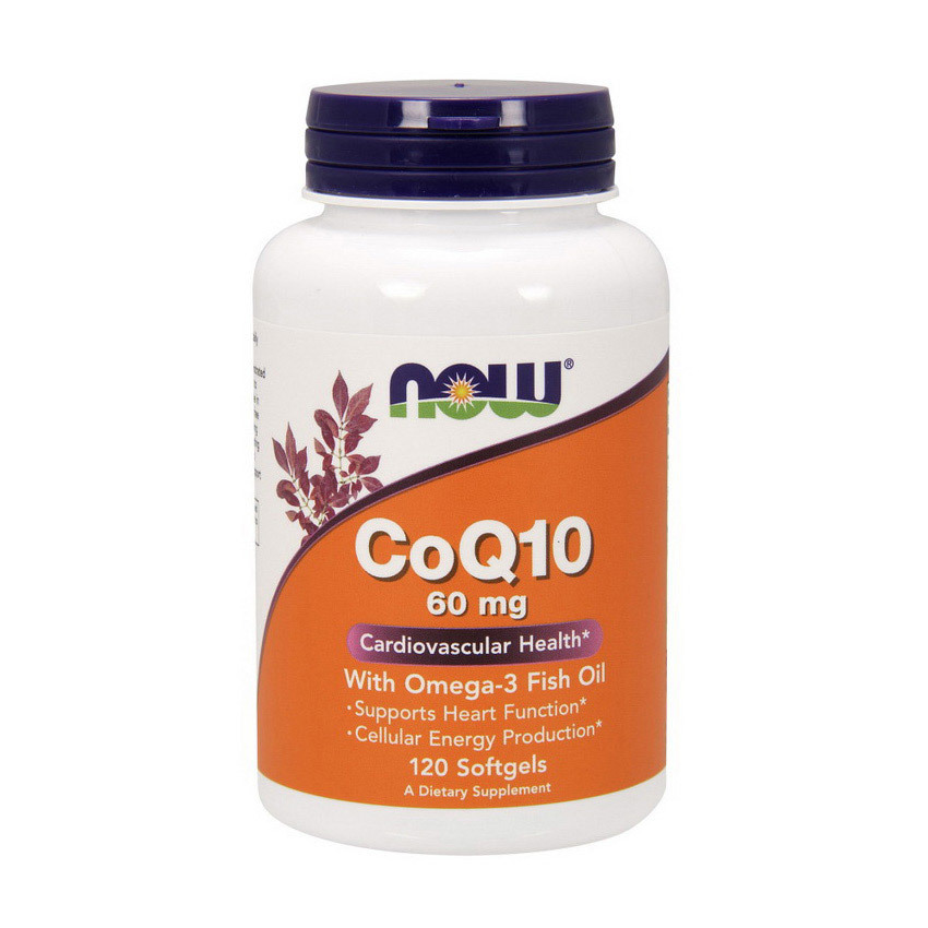 CoQ10 60 mg with Omega-3
