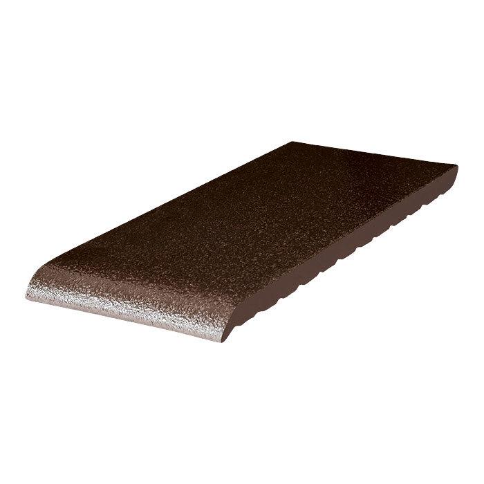King Klinker, Коричневый глазурованный, 02 Brown-glazed, 280x120x15 - Клинкерный подоконник