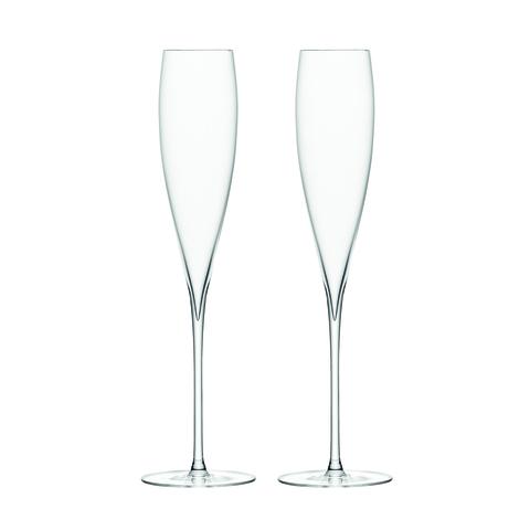 Набор из 2 бокалов-флейт для шампанского Savoy 200 мл LSA International G246-07-301 | Купить в Москве, СПб и с доставкой по всей России | Интернет магазин www.Kitchen-Devices.ru