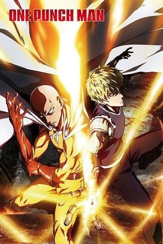 Постер ONE PUNCH MAN: Saitama & Genos
