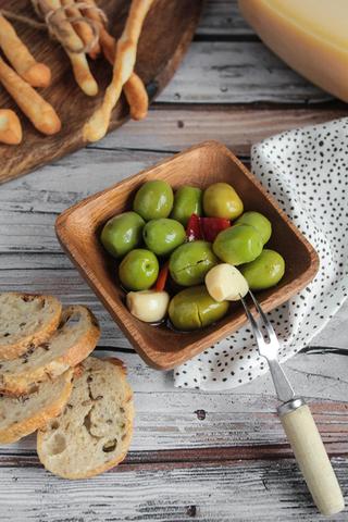 Оливки зелёные «Мохо Пикон» консервированные, 250гр