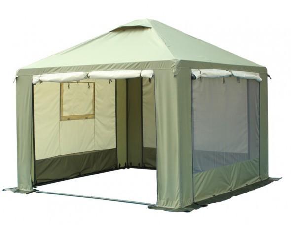 Шатер Митек Пикник-Люкс 2,5Х2,5 Ø25 мм