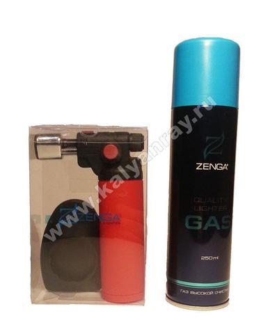 Горелка Zenga с газом