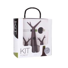 Набор для вина Koala Forest, коричневый, фото 4