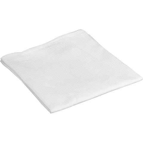 Полотенце вафельное 40x80 см 160 г/кв.м белое
