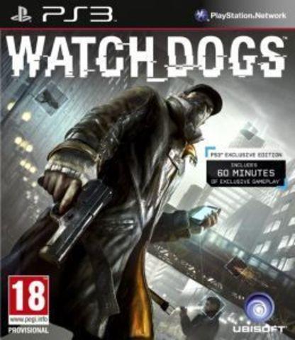 PS3 Watch Dogs (русская версия)