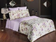 Комплект постельного белья Сатин печатный 2-спальный
