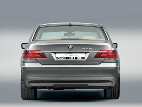 Задняя Восстановленная Пневмостойка для BMW 7 series E65 / E66 2001-2008