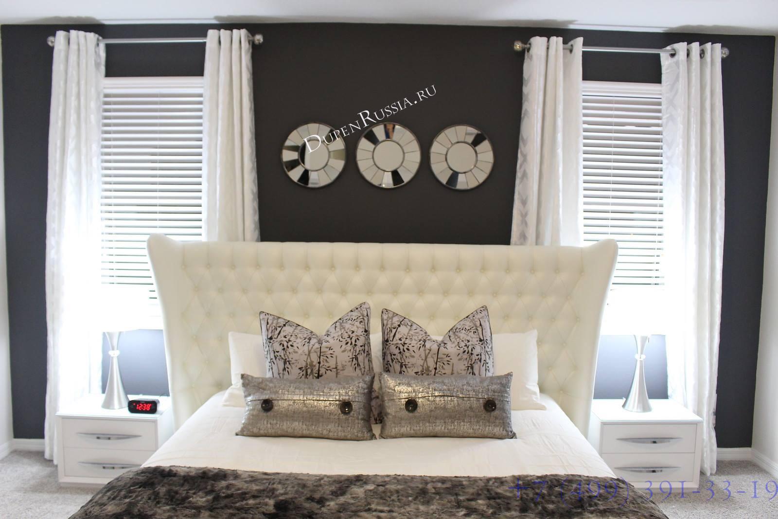 Кровать FRANCO MIAMI белая