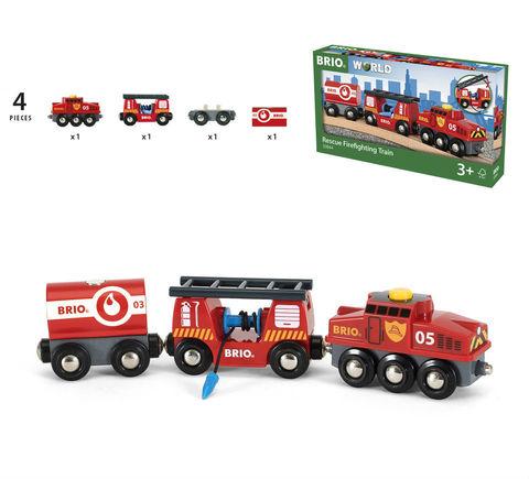 BRIO 33844 Пожарный поезд
